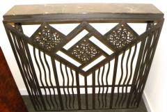 Custom French Style Iron Console Table Radiator Cover - 118271