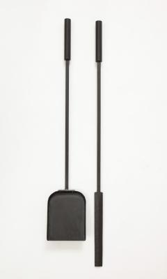 Custom Hand Forged Iron Gropius Fire Poker Shovel - 1871555