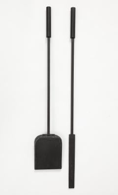 Custom Hand Forged Iron Gropius Fire Poker Shovel - 1871556