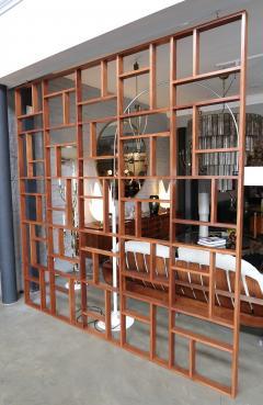 Custom Midcentury Style Geometric Room Divider - 274002