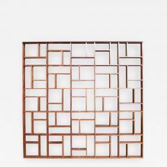 Custom Midcentury Style Geometric Room Divider - 274487