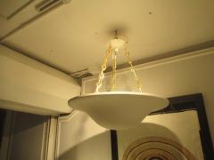 Custom Plaster Chandelier with Brass Chain - 342056
