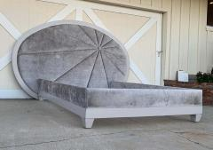 Custom Queen Size Bed designed by Alex P White made by Fitzgerald of SF - 1833320