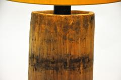Custom Table Lamp Made from Reclaimed Wood - 1909995