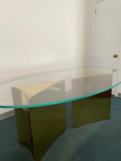 Custom made brass table made by Norwalk - 2117605