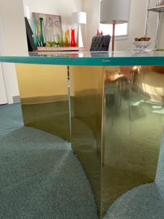 Custom made brass table made by Norwalk - 2117607