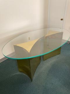 Custom made brass table made by Norwalk - 2117608