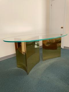 Custom made brass table made by Norwalk - 2117609