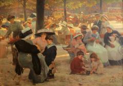 Cyprien Eug ne Boulet Sunday in the Park - 285887