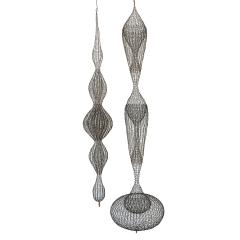 D Lisa Creager DLisa Creager Woven Wire Hanging Sculpture - 1074789