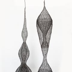 D Lisa Creager DLisa Creager Woven Wire Hanging Sculpture - 1074790