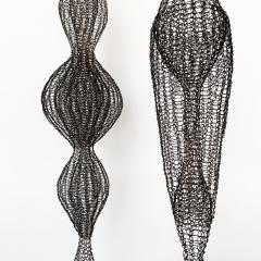 D Lisa Creager DLisa Creager Woven Wire Hanging Sculpture - 1074792