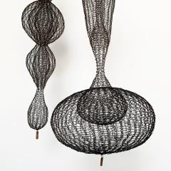 D Lisa Creager DLisa Creager Woven Wire Hanging Sculpture - 1074793