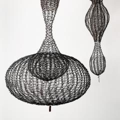 D Lisa Creager DLisa Creager Woven Wire Hanging Sculpture - 1074798