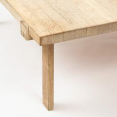 DANISH OAK SQUARE COFFEE TABLE - 1236379