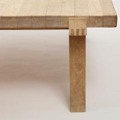 DANISH OAK SQUARE COFFEE TABLE - 1236381