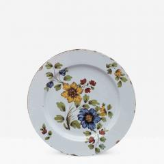 DELFT CHARGER DECORATED WITH FLOWERS - 1091833