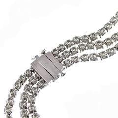 DIAMOND 219 CARAT STATEMENT OPERA PLATINUM NECKLACE - 2153037