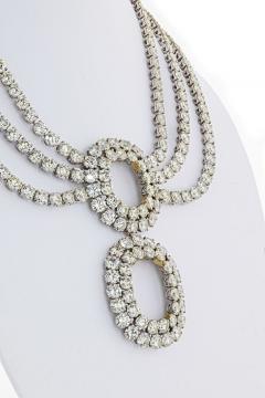 DIAMOND 219 CARAT STATEMENT OPERA PLATINUM NECKLACE - 2153039
