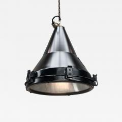 Daeyang Electric Company Ltd 1970s Black Vintage Industrial Conical Ceiling Pendant by Daeyang - 1167719