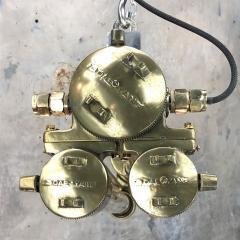 Daeyang Electric Company Ltd Retro Industrial Edison Brass Glass Tube Flameproof Striplight - 1128439