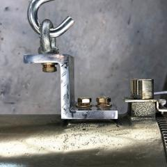 Daeyang Electric Company Ltd Retro Industrial Edison Brass Glass Tube Flameproof Striplight - 1128446