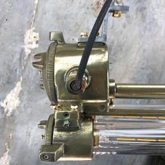 Daeyang Electric Company Ltd Retro Industrial Edison Brass Glass Tube Flameproof Striplight - 1128449
