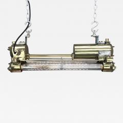 Daeyang Electric Company Ltd Retro Industrial Edison Brass Glass Tube Flameproof Striplight - 1129782