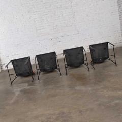 Dakota Jackson Postmodern dakota jackson vik ter dining chairs red yellow orange blue - 1765190