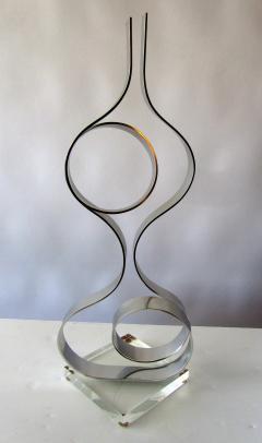 Dan Murphy American Modern Abstract Expressionist Polished Steel Sculpture Dan Murphy - 1326597