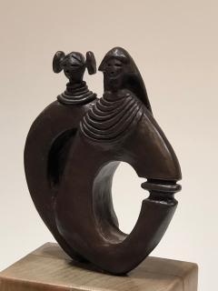 Dan Namingha Kachina Man and Woman - 1670217