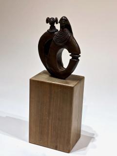 Dan Namingha Kachina Man and Woman - 1670221