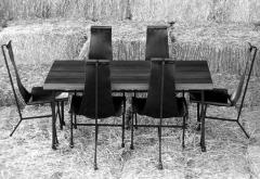 Dan Wenger Dan Wenger Dining Set of Three Chairs and Table - 519339