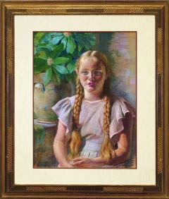 Daniel Garber Frances in Braids - 363676