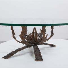 Daniel Gluck A Daniel Gluck Designed Brutalist Bronze Coffee Table Base  1960s   285797