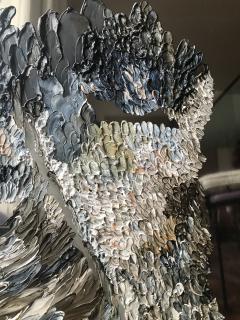 Daniela Busarello INNER LANDSCAPE XX Oil cold Wax on polished steel - 729135