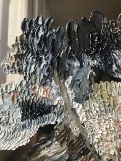 Daniela Busarello INNER LANDSCAPE XX Oil cold Wax on polished steel - 729137