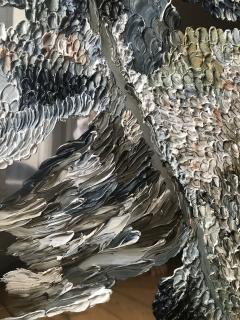 Daniela Busarello INNER LANDSCAPE XX Oil cold Wax on polished steel - 729138