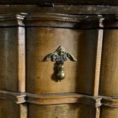 Danish 18th century Baroque oak bureau Writing Desk - 1324961