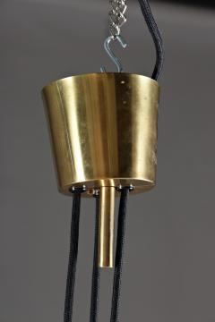 Danish Brass Pendant in Brass with Counter Weight - 849030