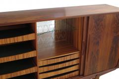 Danish Brazilian Rosewood Sideboard with Center Bar - 1079963
