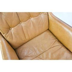 Danish Leather High Back Chairs - 1753701