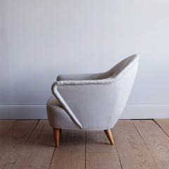 Danish Lounge Chair in the Manner of Flemming Lassen - 1196806