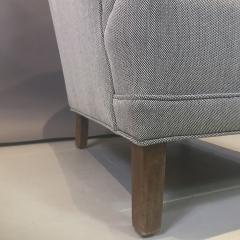 Danish Mid Century Upholstered Armchair Kvadrat Upholstery - 1746468