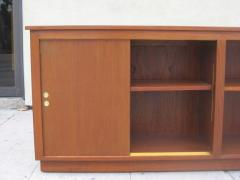 Danish Modern Cabinet Bookcase in Teak - 35829