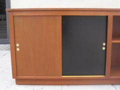 Danish Modern Cabinet Bookcase in Teak - 35830