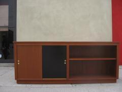 Danish Modern Cabinet Bookcase in Teak - 35831