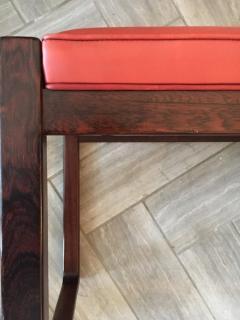 Danish Modern Rosewood Bench - 1989572