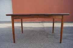 Danish Modern Rosewood Dining Table - 839553