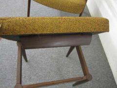 Danish Modern Scoop Arm Walnut Lounge Chair with Adjustable Ottoman - 1877305